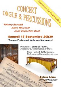 Orgue & percussions