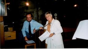 Orgue et flûte. Culte de Pâques 2005.