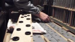 Démontage des joints